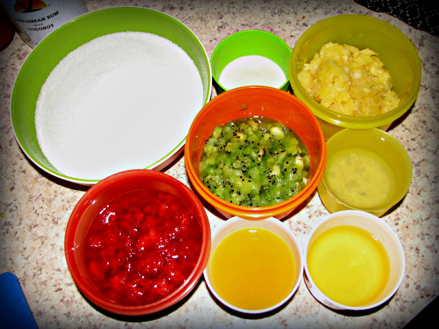 Food Preserving: Strawberry Kiwi Pina Colada Jam
