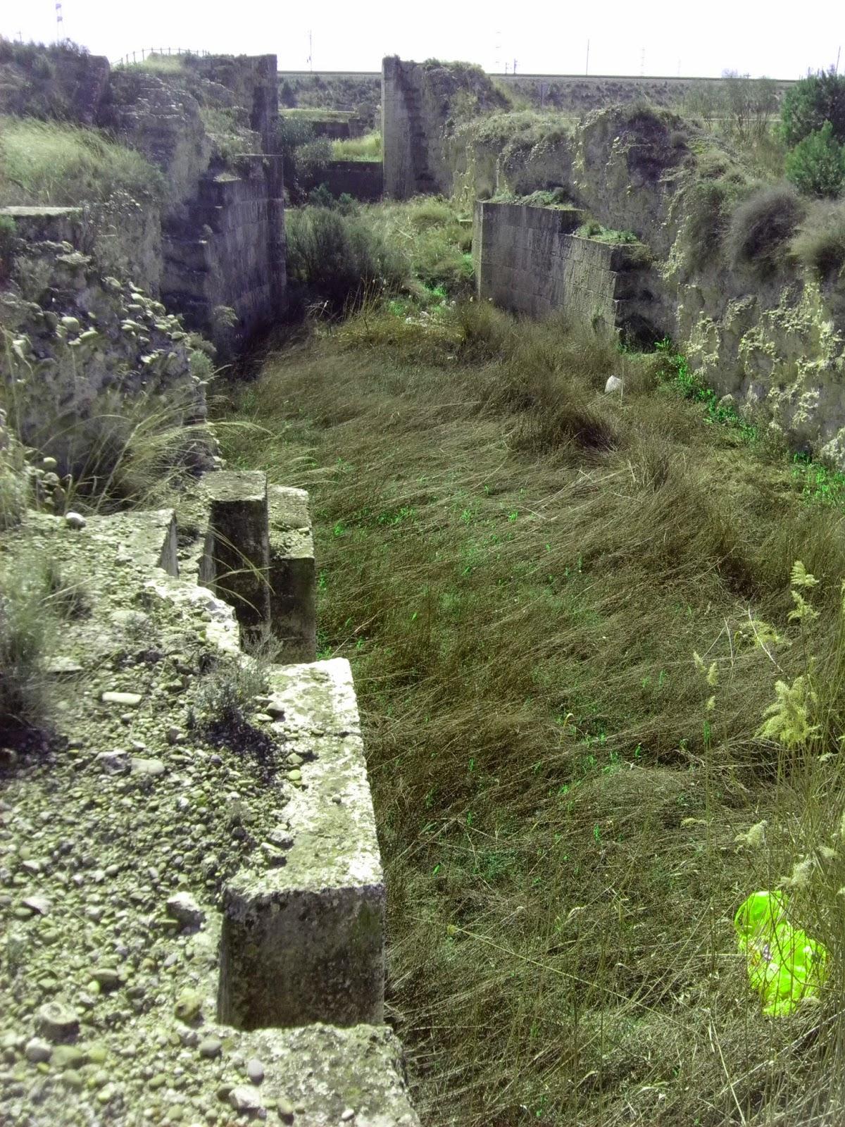 esclusas de Torrecilla de Valmadrid anillo verde de Zaragoza