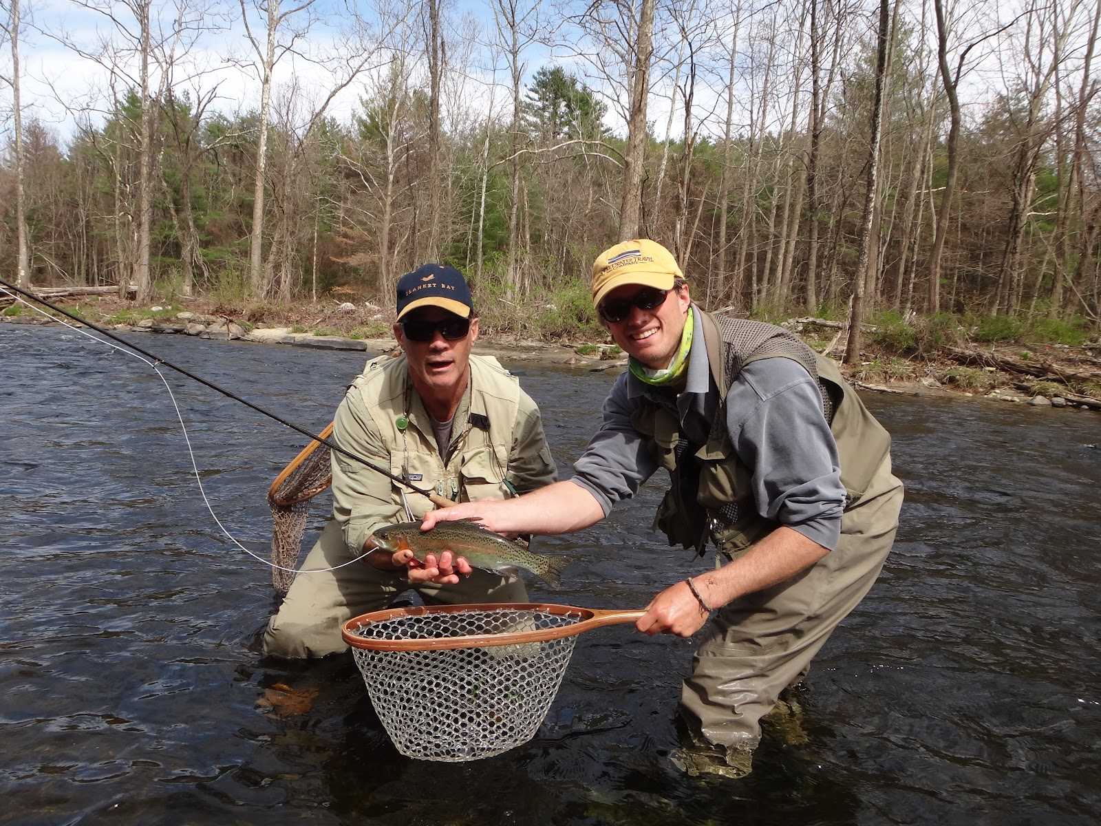 One hook up fly fishing farmington river on a saturday for Farmington river fishing