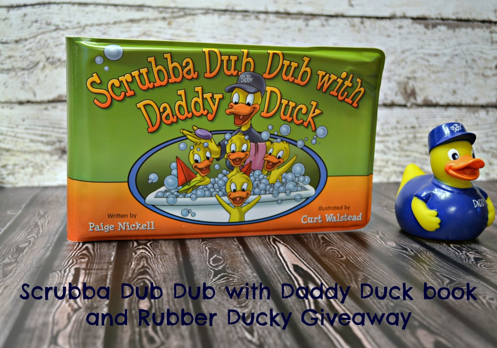 Scrubba Dub Dub with Daddy & Company {review & #giveaway}