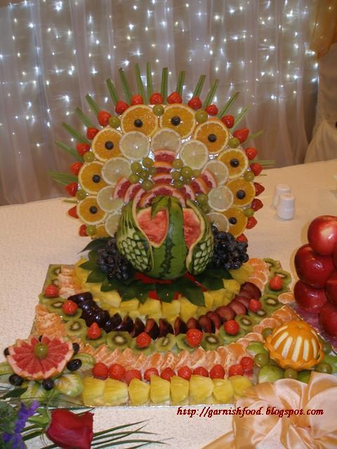 Fruit carving arrangements and food garnishes january
