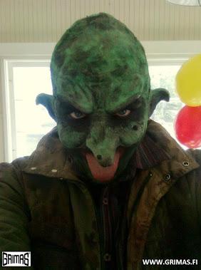 Ari Savonen orc/troll/goblin @ Kannonkoski (taiteiden yö) 2013.