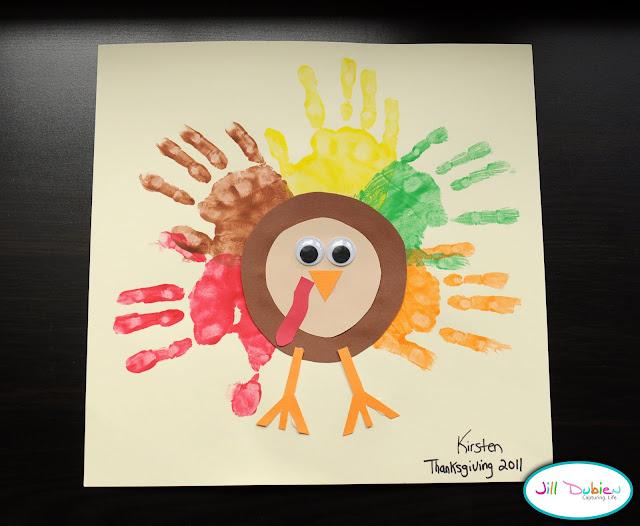 hand print turkey munchkins and mayhem