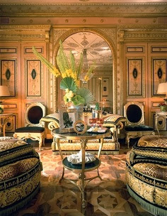 Donatella Versace's Home Interior