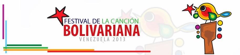 Festival de la Canción Bolivariana 2013