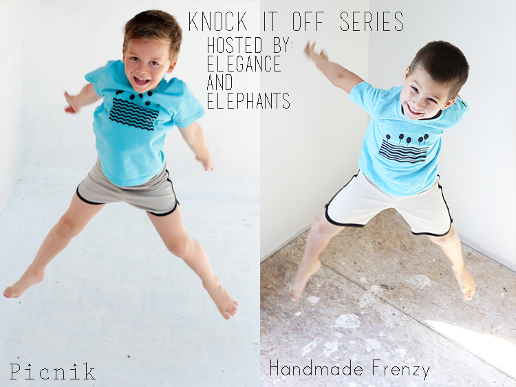 Knock It Off Look using Anytime At All Tee and Clean Slate Pants patterns