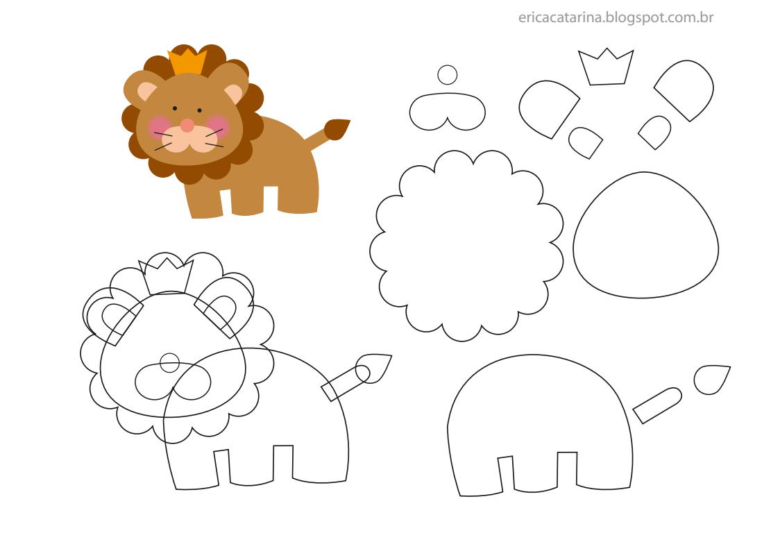 Поделка львенка из бумаги