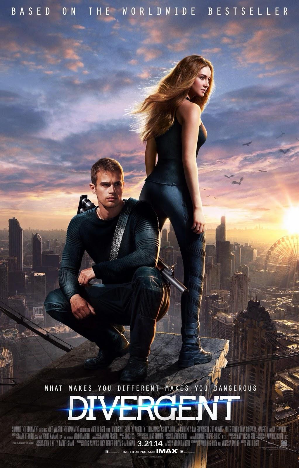 Divergent (2014) 350MB BRRip 480P English ESubs