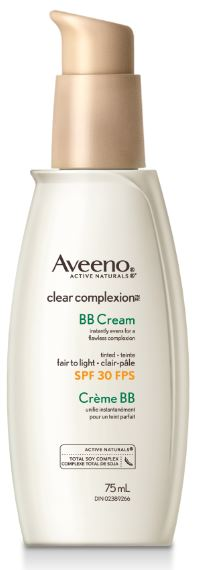 balmy for bb aveeno clear complexion bb cream beauty. Black Bedroom Furniture Sets. Home Design Ideas