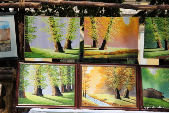 beautiful landscapes acrylic painting