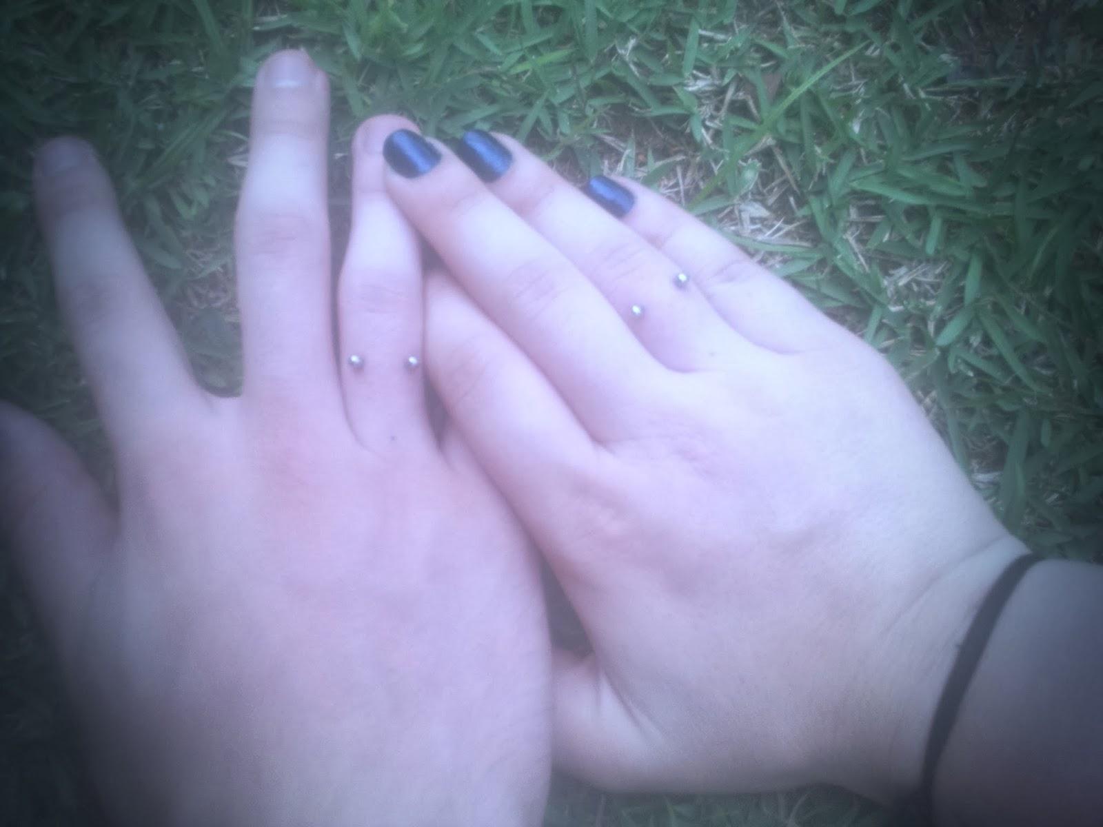 aliança piercing