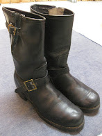 ~70's DEAD STOCK             ENGINEER BOOTS             WITH GRIPPING