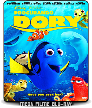 Procurando Dory (2016) – BluRay 720p e 1080p Legendado Áudio 5.1 - Torrent