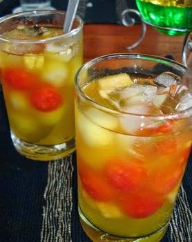Es Melon, Resep Buah, Melon segar, Cara membuat es buah, melon