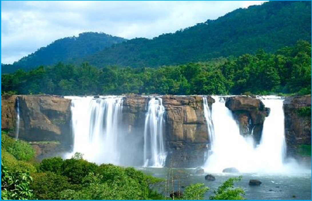 ATHIRAPPALLY FALLS ROUTE MAP – South India Map With Tourist Places