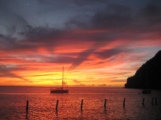 Dawn at Saint lucia,amazing-sunsets