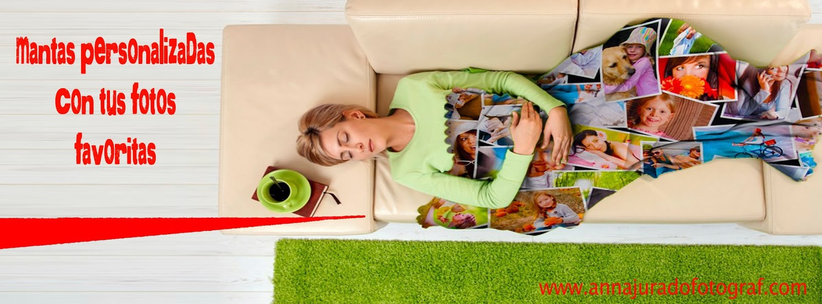 Anna jurado fotograf mantas personalizadas en oferta - Mantas con fotos ...