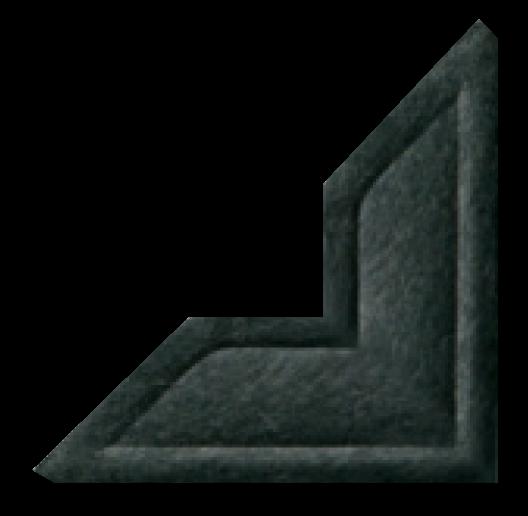 black photo mounting corner