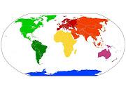 representa los paises con la . map image only