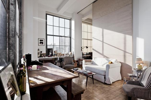 New York Style Apartment Interior