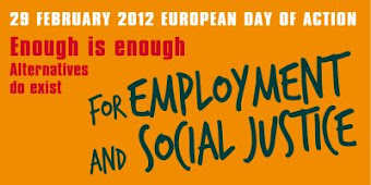 EUROPEAN TRADE UNION ACTION DAY : FOR EMPLOYMENT AND SOCIAL JUSTICE