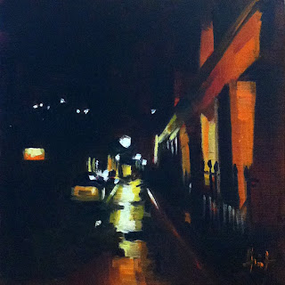 Islington Streetlamp II by Liza Hirst
