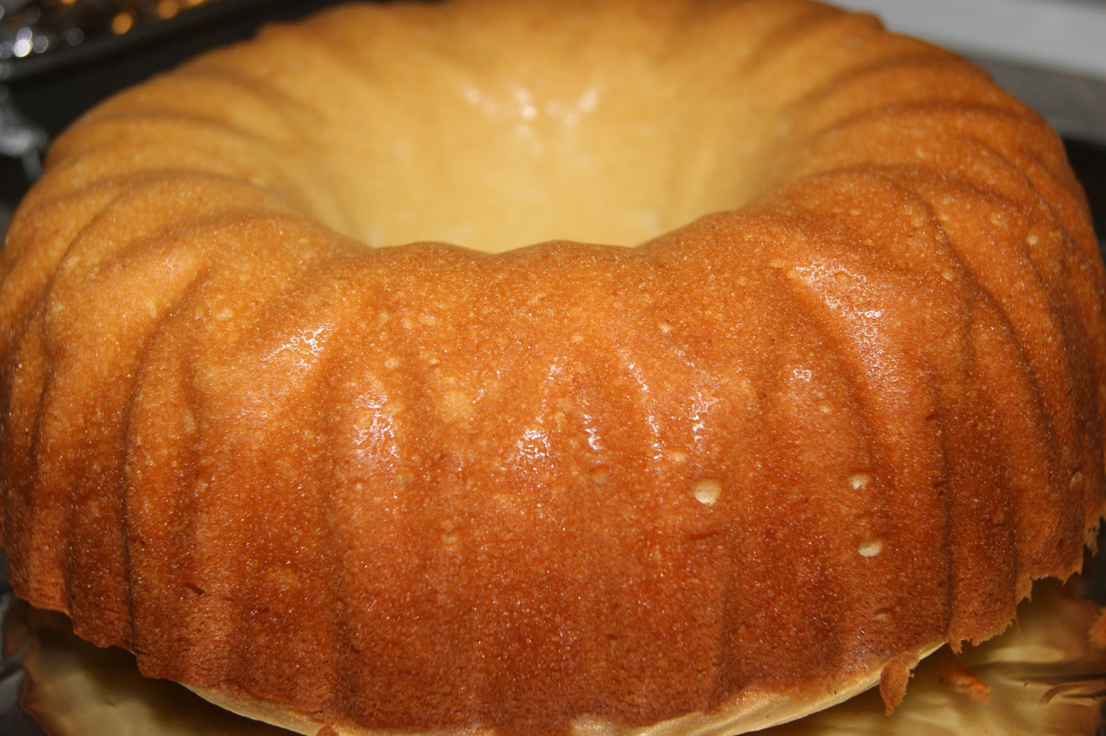 Home Made Whipping Cream Pound Cake