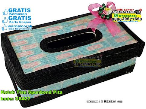 Kotak Tisu Spunbond Pita