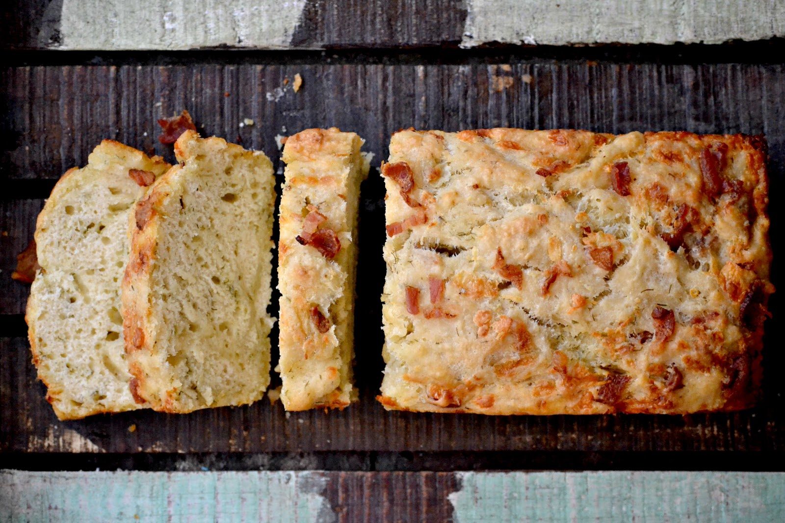 Bakeaholic Mama: Cheddar & Dill Beer Bread with Bacon and The Recipe ...