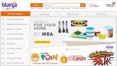 Review Toko Online blanja.com