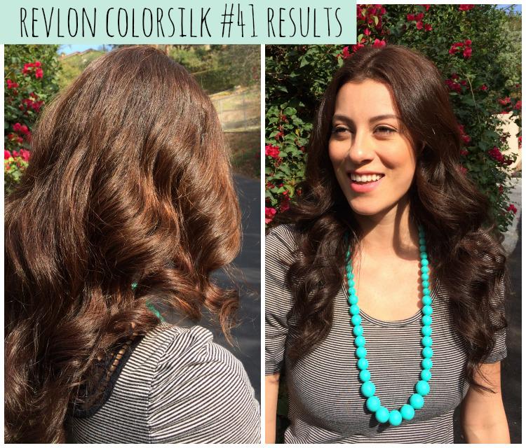 Revlon Colorsilk 30 Dark Brown Before And After | Dark Brown Hairs