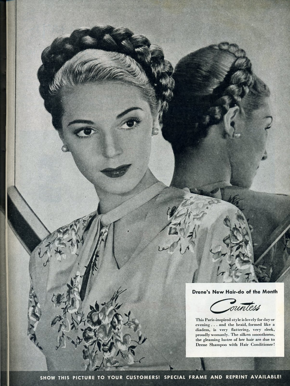 Fashionable Forties A Braided Updo