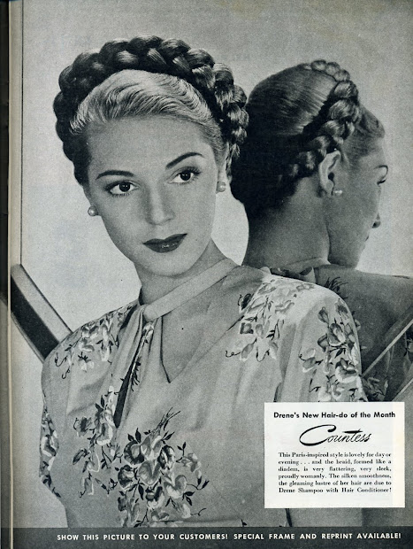 fashionable forties braided
