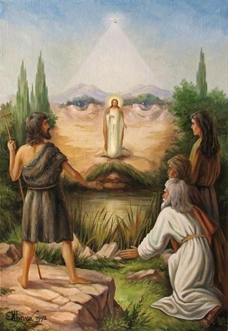 people watchi jesus