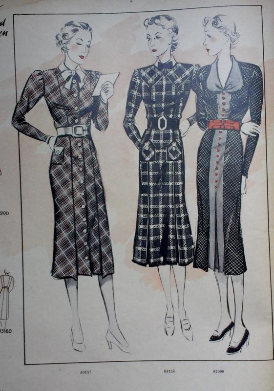 Sew Something Vintage: For Sale - 1930s German Sewing Pattern Magazine