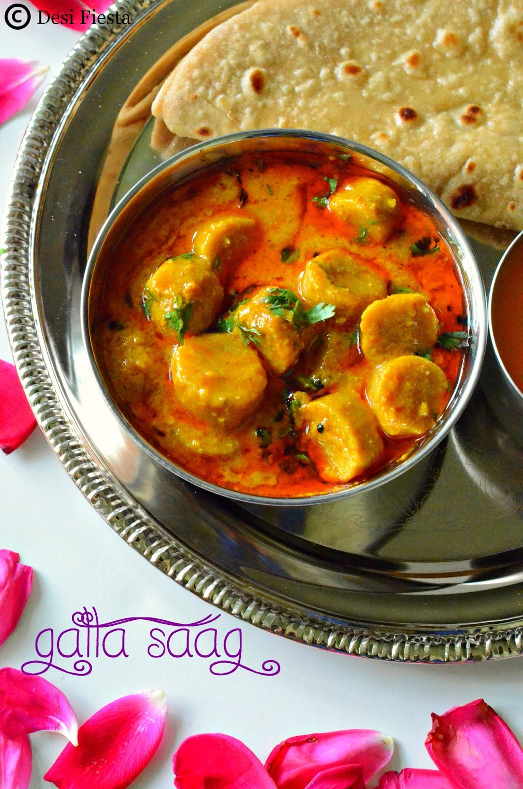 Rajasthani vegetarian curries/ gravies