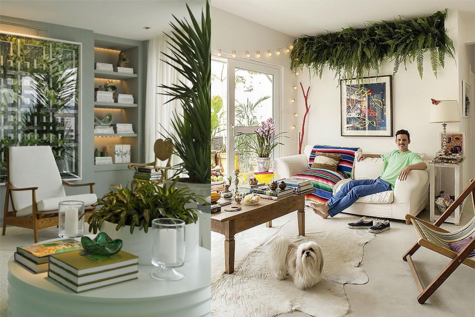 Marden Plus Size: 35 IDEIAS DE DECORAÇÃO COM PLANTAS #63482D 1600x1066 Banheiro Com Jardim Embaixo Da Pia