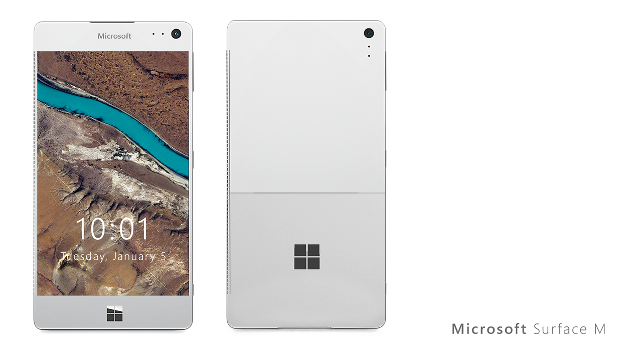 Microsoft Surface M, Concept