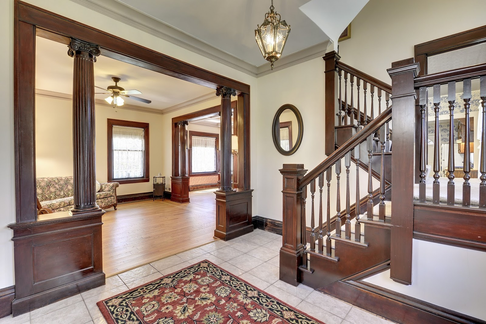 Re max results gorgeous late victorian era home with for Victorian woodwork