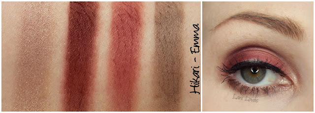July 2015 Lust Have It Box - Hikari Emma eyeshadow quad Review