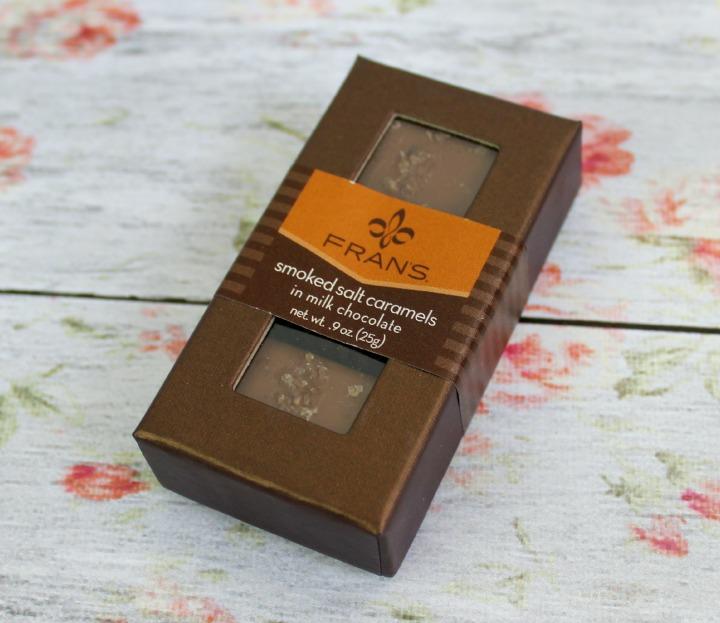FRAN'S SMOKED SALT CARAMELS IN MILK CHOCOLATE