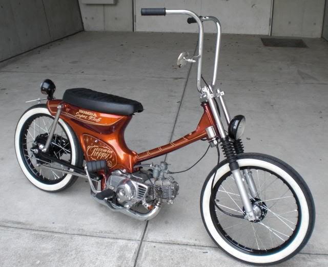 Modifikasi Brat Style Japs Style Chopper Bobber Style