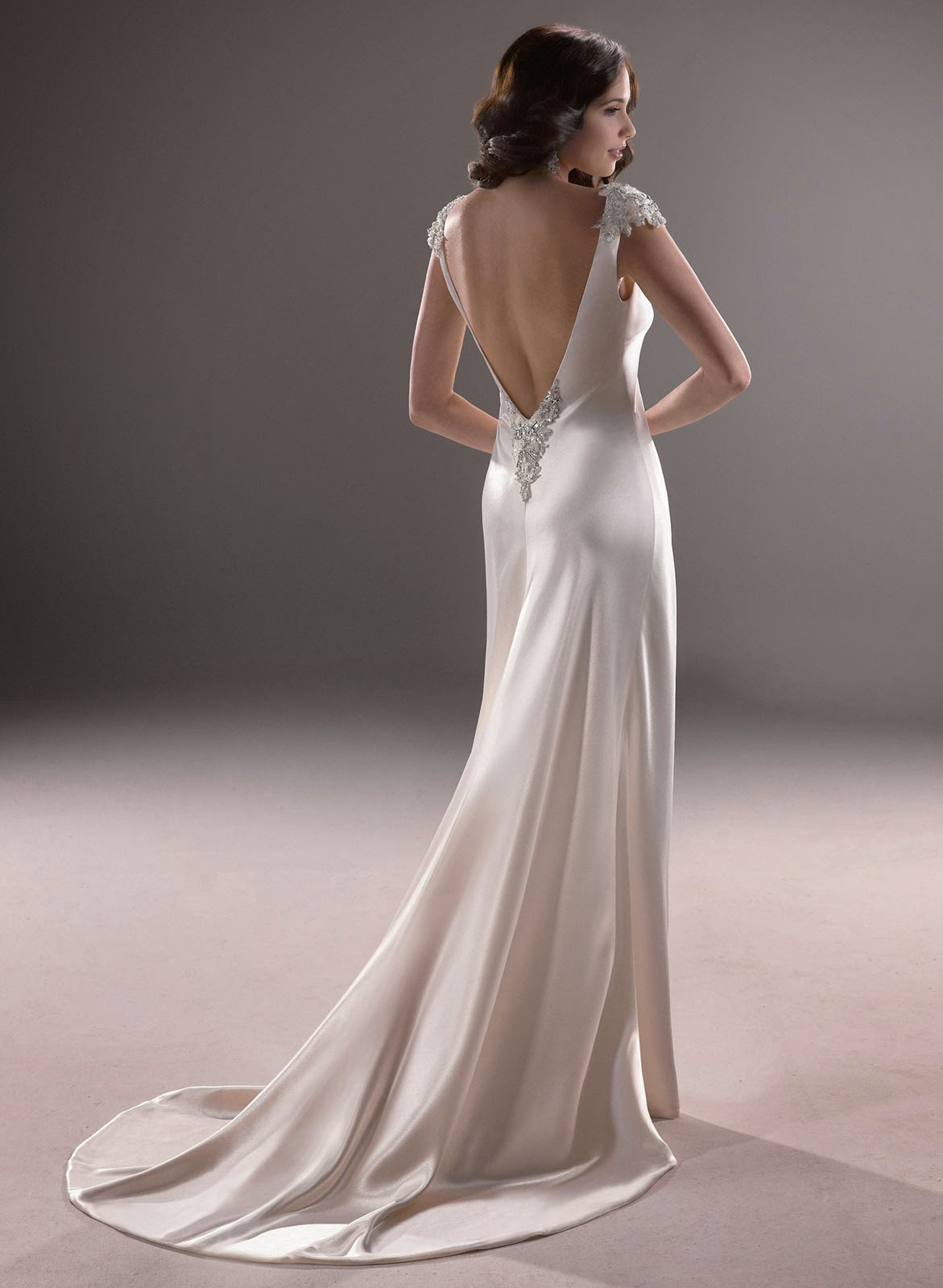 2014 Backless Wedding Dresses Trend Ideas Photos HD