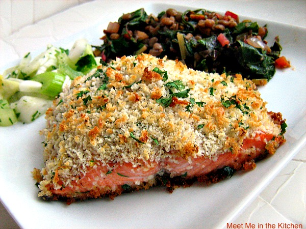 Meet Me in the Kitchen: Panko Crusted Salmon