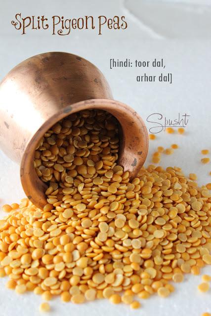 Spusht | Split Pigeon Peas | Hindi: Toor Dal, Arhar Dal, Tuvar Dal