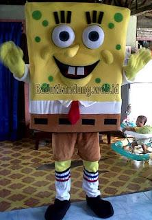 karakter badut spongsbob paling laku