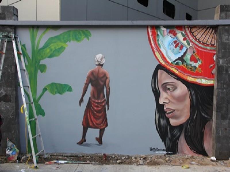 Belajar fotografi fun act mural 2015 mural kerjasama for Mural indonesia