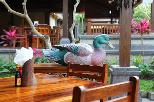 t endure affraid of the pregnant of the eating theatre  Beaches in Bali: Bebek Bengil Ubud Bali