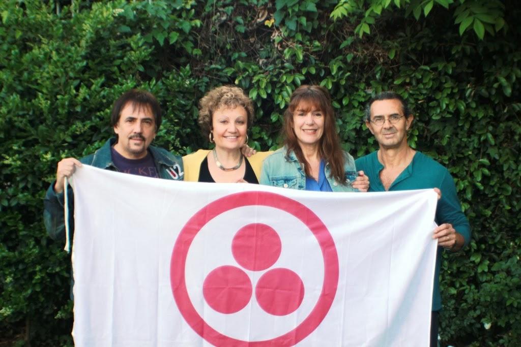 4 Embajadores de Paz en los Angeles