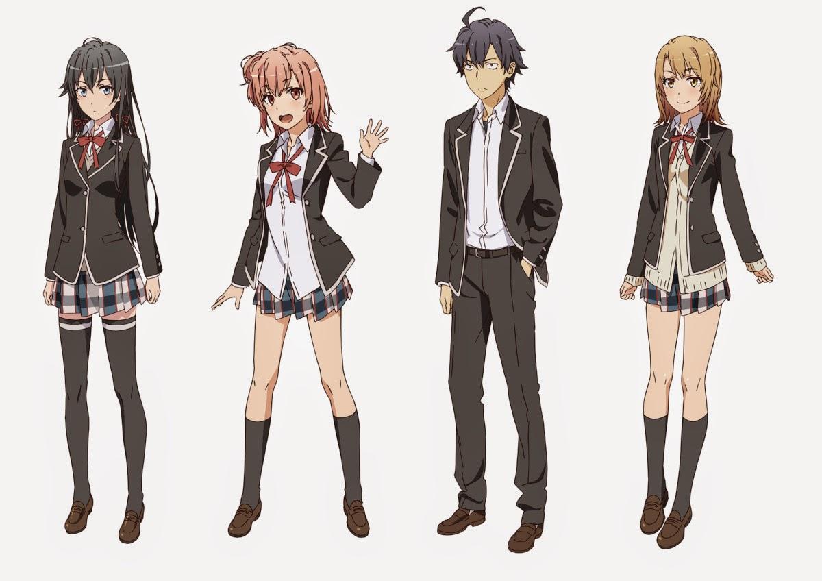 [ Info-Anime ] Season Kedua Yahari Ore No Seishun Love Come Wa Machigatteiru Perlihatkan Key Visual Baru